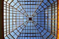 Dach szkło i żelazo obraz stock