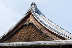 Dach Tenryuji świątynia Zdjęcia Stock