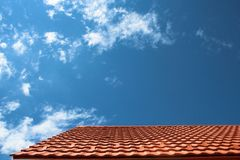 Dach und Himmel Lizenzfreie Stockbilder