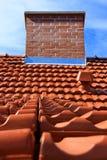 Dach und Kamin Lizenzfreie Stockfotografie