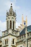 Dach und kleiner Kontrollturm Stockbilder