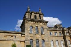 Dach von Blenheim-Palast in England Stockfotos