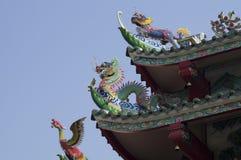 Dach von China-Tempel Stockbilder