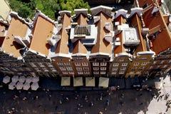 Dach von Gdansk Lizenzfreie Stockfotos