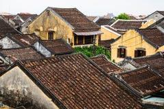 Dach von Hoi An Ancient Town, Quang Nam, Vietnam Lizenzfreie Stockfotografie