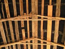Dach von innen Stockfoto