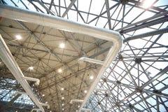 Dach von innen aufbauen lizenzfreie stockfotos