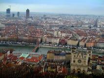Dach von Lyon Lizenzfreies Stockfoto