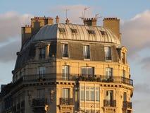 Dach von Paris Stockfotos