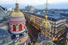 Dach von Paris Stockfoto