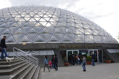 Dach von Plexiglasblasen Stockfotografie
