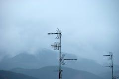 dach w Galicia Fotografia Royalty Free