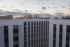 Dach w Moskwa zdjęcia royalty free