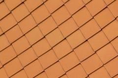 Dach zrobi brogować gliniane płytki fotografia royalty free