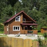 dacha κοντά στο χωριό της Πετρ&omicron Στοκ εικόνες με δικαίωμα ελεύθερης χρήσης