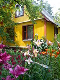 Dacha in the Moscow region Stock Image