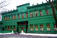 "Dacha van Stalin in Moskou, Kuntsevo (foto â ""– 1) Royalty-vrije Stock Afbeeldingen"