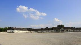 Dachau集中营 免版税库存图片