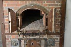 Dachau -烤箱火葬场2-1 免版税库存图片