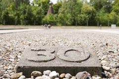 Dachau barack 30 royaltyfri foto