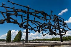 Dachau Camp in Germany stock image