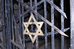Dachau Concentration Camp. Jewish Memorial at the Concentration Camp in Dachau. Germany Stock Photos