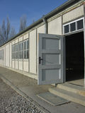 Dachau Concentration Camp. A section of the barracks at Dachau Concentration Camp in Germany Stock Photo
