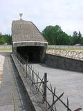 Dachau Concentration Camp. This is the Jewish Memorial at the Nazi Concentration Camp in Dachau, Germany Stock Photo