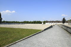 Dachau Concentration camp Royalty Free Stock Photography
