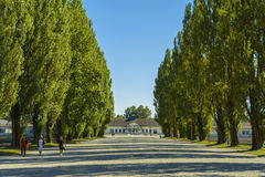 Dachau concentration camp royalty free stock photo