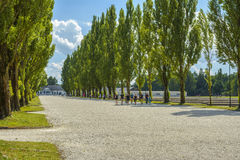 Dachau concentration camp stock images