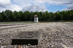 Dachau concentration camp, Germany. Stock Photo