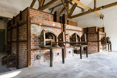 Dachau concentration camp in Germany Royalty Free Stock Photography