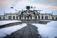 Dachau Concentration Camp Memorial Royalty Free Stock Photography