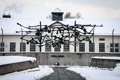 Dachau Concentration Camp Memorial Royalty Free Stock Image