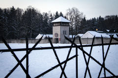 Dachau Concentration Camp Memorial Stock Photography