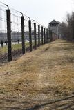 Dachau concentration camp `no man`s land` royalty free stock image