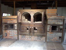 Dachau Concentration Camp Oven Royalty Free Stock Photography