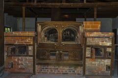 Dachau concentration camp ovens crematorium royalty free stock photo