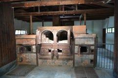 Dachau - crematoria 4 dei forni Immagine Stock