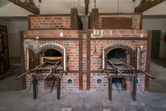 Dachau crematorium. The second crematorium built at the Dachau concentration camp after the first could not keep up with the demand Royalty Free Stock Image