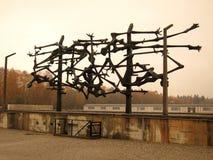 Dachau (escultura) foto de stock