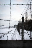 Dachau koncentrationslägerminnesmärke royaltyfri fotografi