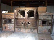 Dachau koncentrationslägerugn royaltyfri fotografi