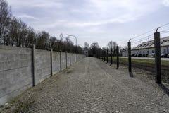 Dachau koncentrationsl?germinnesm?rke Dachau Tyskland - Immagine royaltyfria foton