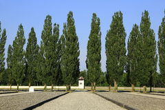 Dachau koncentrationsläger Arkivbild