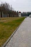 Dachau Kontrollturm Stockfotos