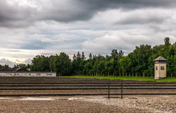 Dachau-Konzentrationslager Stockbilder