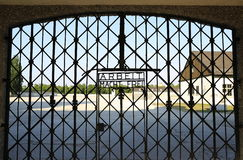 Dachau-Konzentrationslager stockbild