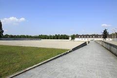 Dachau-Konzentrationslager lizenzfreie stockfotografie